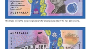 $5 Note Australia bank Note 5 dollars