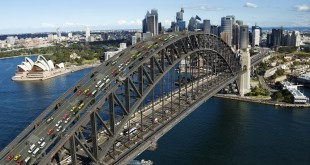 CARS TO DRIVE ON TOP OF THE SYDNEY HARBOUR BRIDGE