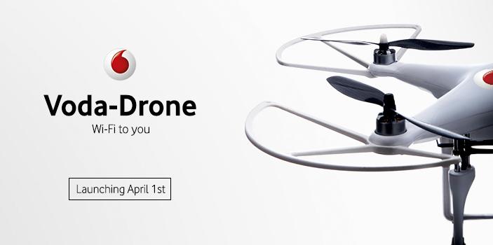 Voda-Drone April Fool