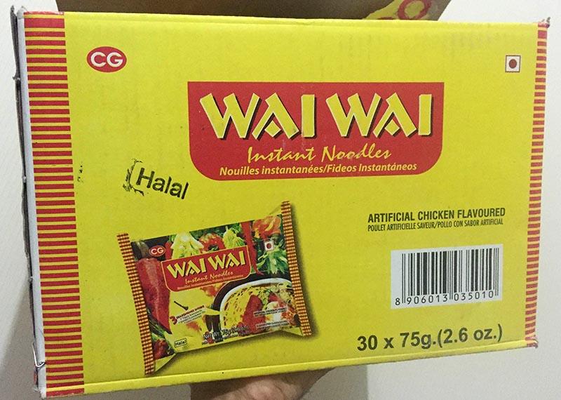 Wai Wai noodles 4