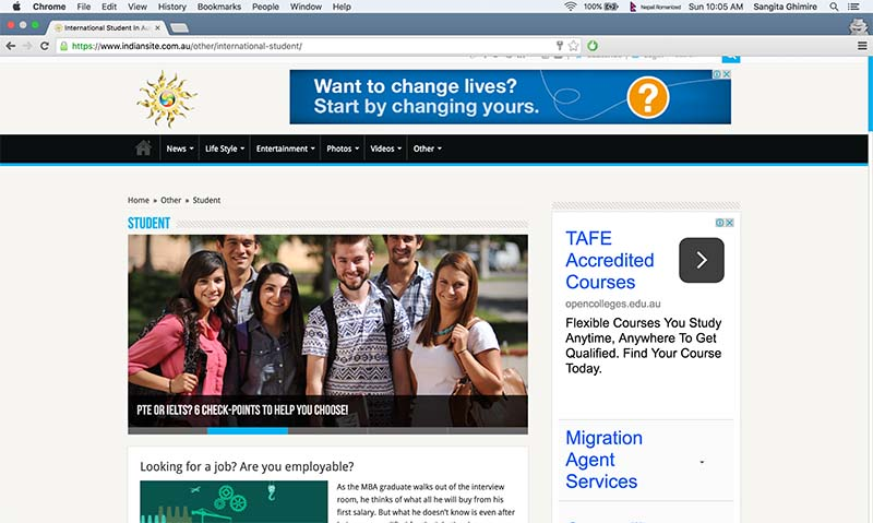 अष्ट्रेलिया आउने योजना बनाउनु अघि हेर्नुपर्ने ६ वेबसाइट